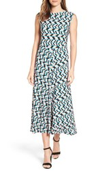Chaus Women's Shadow Glass A Line Maxi Dress