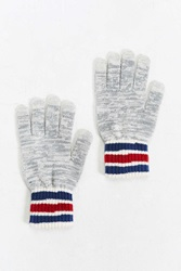 Urban Outfitters Athletic Stripe Touchscreen Glove Grey Multi