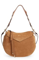Jimmy Choo Artie Suede Hobo Bag