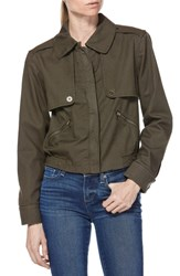 Paige Aubree Utility Jacket Forest Night