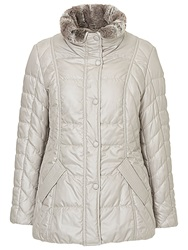 Betty Barclay Padded Outdoor Jacket Light Silver