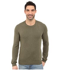 Fjall Raven Ovik Crew Sweater Tarmac Men's Sweater Olive