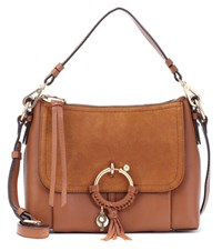 See By Chloe Joan Small Leather Crossbody Bag Brown
