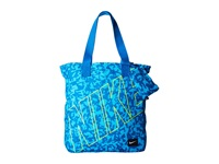 Nike Young Athletes Rowena Tote Clearwater Dark Electric Blue White Tote Handbags