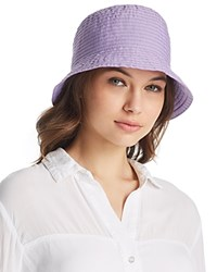 Aqua Ribbon Bucket Hat 100 Exclusive Lilac
