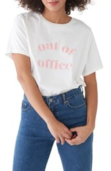 Ban.Do Ban. Do Out Of Office Classic Tee Ivory