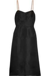 Marc By Marc Jacobs Mayu Silk Organza Dress Black
