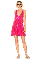 Acacia Swimwear Havana Mini Dress Pink