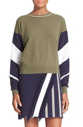 Women's Tanya Taylor 'Georgie' Colorblock Sweater