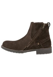 Wrangler Sherpa Boots Coffee Brown