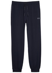 Boss Navy Jersey Lounge Trousers