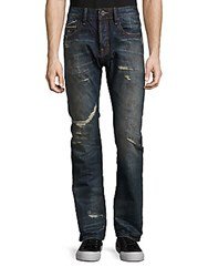 Cult Of Individuality Rebel Straight Cotton Jeans Peat