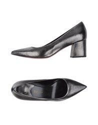 Couture Pumps Steel Grey