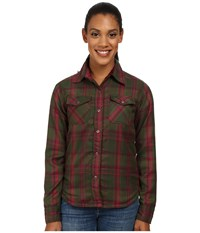 Mountain Khakis Christi Fleece Lined Shirt Rainforest Women's Fleece Brown