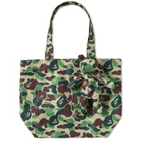 A Bathing Ape Abc Bear Eco Bag Green