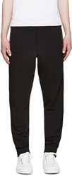 Mcq By Alexander Mcqueen Black Mesh Panel Trousers