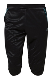 Lotto Solista Shorts Black Blue Fluo