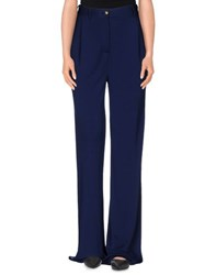Class Roberto Cavalli Trousers Casual Trousers Women Dark Blue