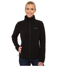 Columbia Fuller Ridge Fleece Jacket Black Women's Coat