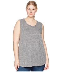 Aventura Clothing Plus Size Dharma Tank Top Black Sleeveless