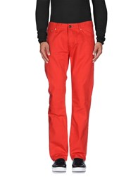Tommy Hilfiger Denim Denim Denim Trousers Men Red