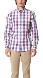 Ben Sherman Plaid Shirt Off White