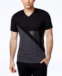 Inc International Concepts Men's Odysseus Spliced T Shirt Only At Macy's