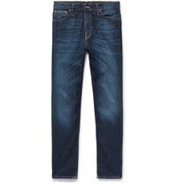 Nudie Jeans Brute Knut Slim Fit Organic Stretch Denim Mid Denim