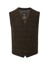 White Stuff Portland Check Waistcoat Multi Coloured