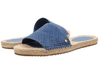 Ugg Cherry Exotic Skyline Leather Women's Sandals Blue