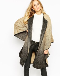 Y.A.S Mist Cape Coat Multi