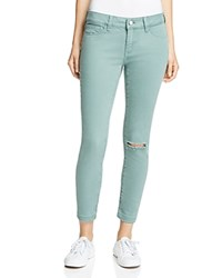 Mavi Jeans Adriana Ankle In Balsam Green Washed
