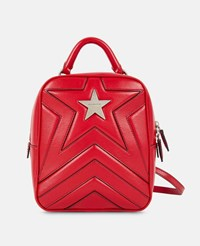 Stella Mccartney Red Star Backpack