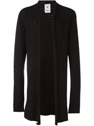 Lost And Found Rooms Long Open Cardigan Black