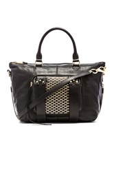 She Lo Next Chapter Studded Small Satchel Bag Black