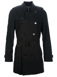 Burberry London Double Breasted Trench Black