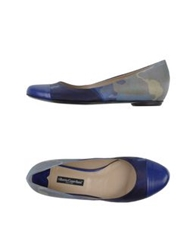 Alberto Guardiani Ballet Flats Dark Blue
