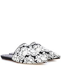 Tory Burch Elora Slippers Black