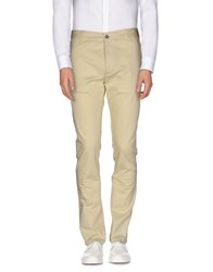 Galliano Trousers Casual Trousers Men Light Yellow