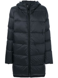 Ecoalf Hooded Puffer Jacket Black