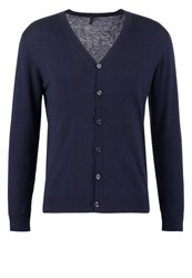 United Colors Of Benetton Cardigan Navy Dark Blue