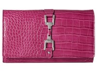Sam Edelman Gigi Fuchsia Croco Leather Handbags Pink