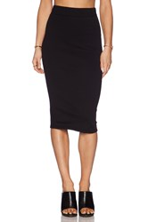 James Perse Classic Fleece Skirt
