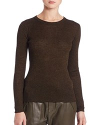 Set Shimmer Ribbed Knit Sweater Black Camel Black Grey