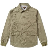 Barbour Alan Overshirt Brown