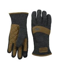 Outdoor Research Exit Sensor Gloves Charcoal Extreme Cold Weather Gloves Gray