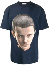 Ih Nom Uh Nit Eleven Archive Printed T Shirt Blue