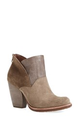 Kork Ease Women's 'Castaneda' Ankle Boot Grey Suede