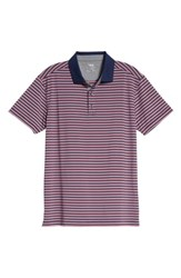 Bobby Jones Rule 83 Stripe Tech Jersey Polo Navy