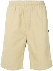 Stussy Elasticated Waist Shorts Nude And Neutrals